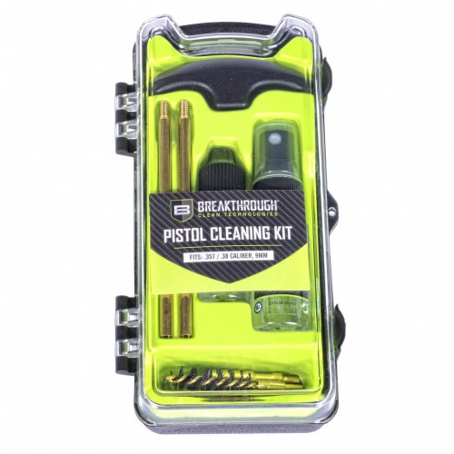 Breakthrough®  Vision Series Pistol Cleaning Kit – 9mm, 357Cal, 38Cal