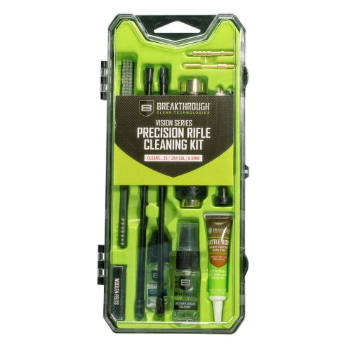 Breakthrough®  Vision Series Rifle Cleaning Kit– .25 Cal / 6.5mm