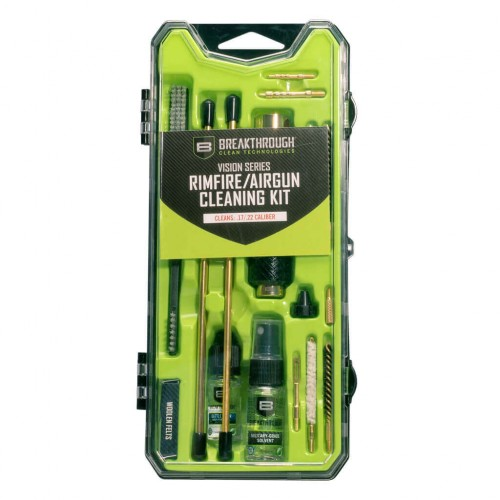 Breakthrough®  Vision Series Airgun Cleaning Kit- .17/.22 Cal