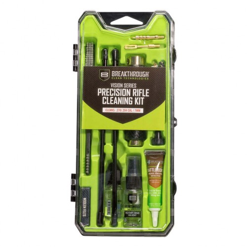 Breakthrough®  Vision Series Rifle Cleaning Kit– .270 / .284 Cal / 7mm