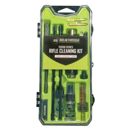 Breakthrough®  Vision Series Rifle Cleaning Kit - AR10 / .30 Cal