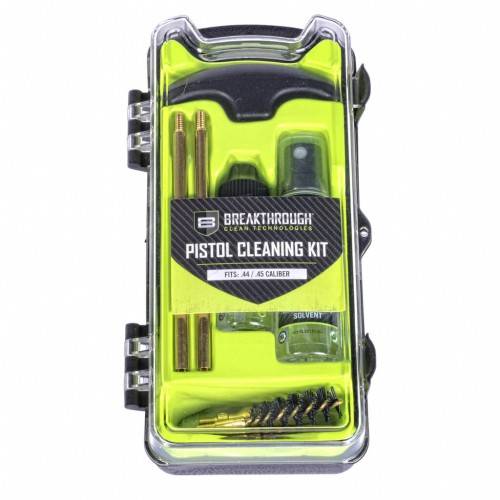 Breakthrough®  Vision Series Pistol Cleaning Kit – .44 /.45 Cal