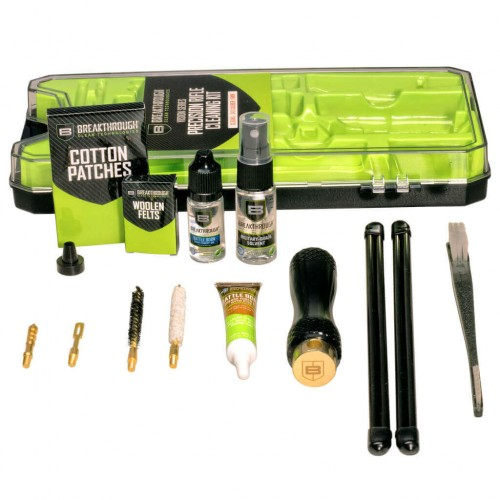 Breakthrough®  Vision Series Rifle Cleaning Kit– .243 Cal / 6mm