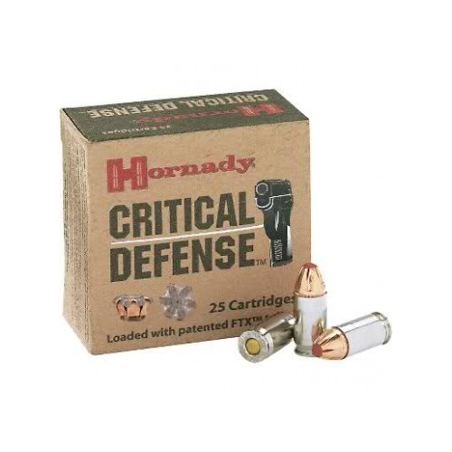 Hornady Critical Defense 9mm Luger
