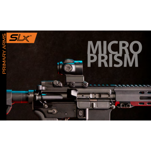 Primary Arms MICRO Prism Scope ACSS 1x GEMINI 9mm RED